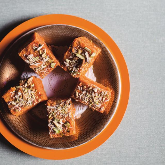 Rezept von Cyrus Todiwala: Möhrenkonfekt (Gajjar Ka Halwa)