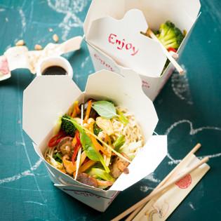 Rezept von Micaela Stermieri: Asia-Nudeln mit Gemüse