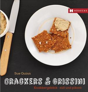 Backbuch von Sue Quinn: Crackers & Grissini