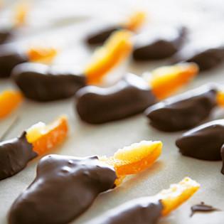 Rezept von Pam Corbin: Kandierte Orangenstäbchen