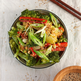 Rezept von Nadine Horn & Jörg Meyer: Thai-Brokkoli-Salat