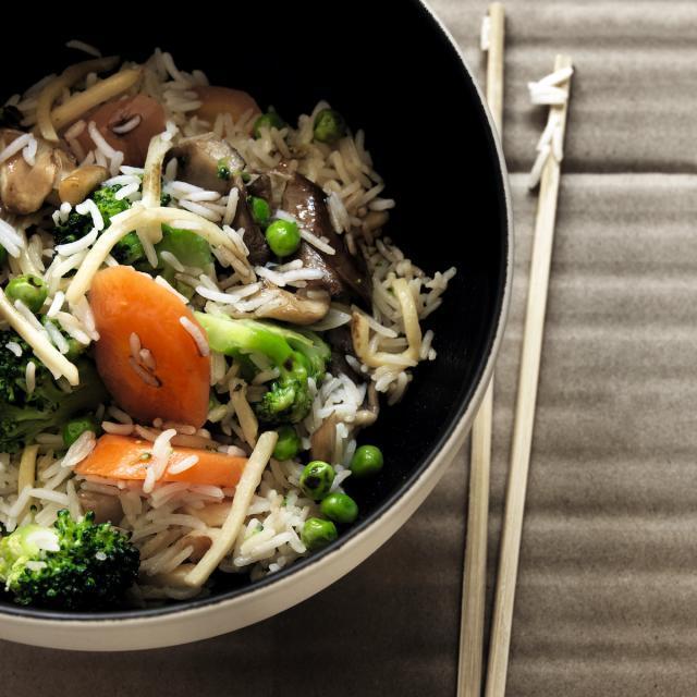 Rezept von tibits & Hiltl: Cantonese Fried Rice