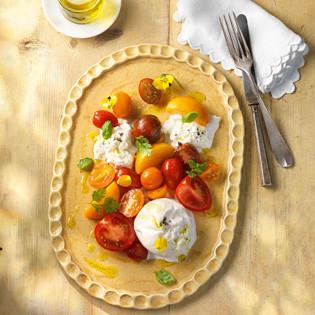 Rezept von Paul Ivic: Burrata mit Aprikosen