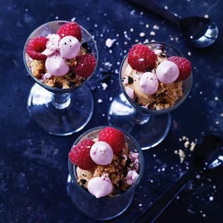 Rezept von Elisabeth Johansson: Weiße Schokoladenmousse mit Lakritz
