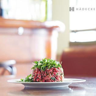 Rezept von Jean-Guillaume Dufour: Mailänder Tatar mit Parmesan und Basilikum