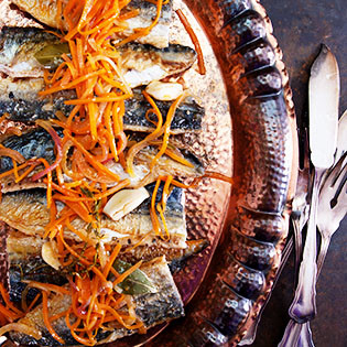 Rezept von Omar Allibhoy: Marinierte Makrelen