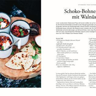 Rezept von David Frenkiel & Luise Vindahl: Schoko-Bohnen-Chili mit Walnüssen