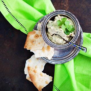 Rezept von Suzanne Zeidy: Hummus mit Koriander