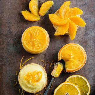 Rezept von Aurélie Bastian: Orangentartelettes
