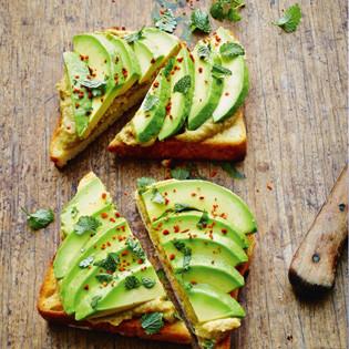 Rezept von Maik Schacht: Veganer Avocado-Kamm