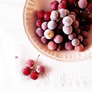 Aus Valentinas Küche: Gefrorene Trauben