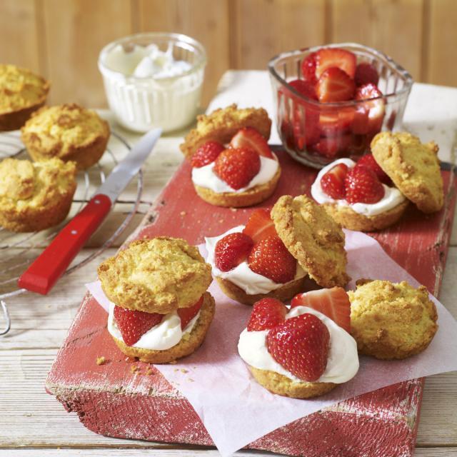 Rezept von Bretherton & Rosemond-Hoerr: Strawberry Shortcake