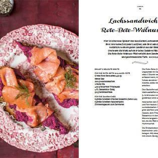Rezept von den Reith-Schwestern: Lachssandwich mit Rote-Bete-Walnuss-Paté
