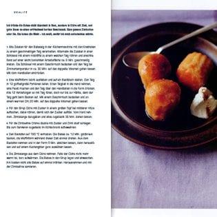 Rezept von Daniel Galmiche: Babas mit Cidre & Zimtsahne