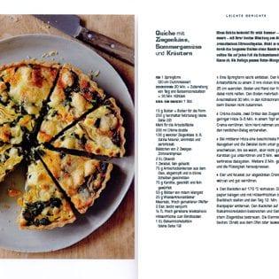 Rezept von Daniel Galmiche: Quiche mit Ziegenkäse & Kräutern