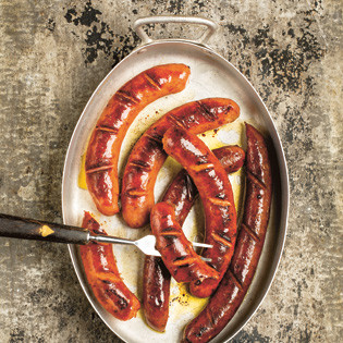 Rezept von Thomas Horne: Sausages and Porcini Risotto