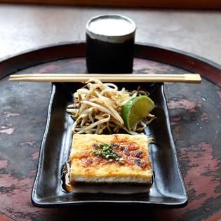 Rezept von Laure Kié: Tofu-Steak mit Ponzu-Sauce
