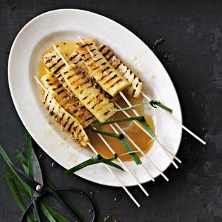 Rezept von Louisa Lorang: Gegrillte Ananas mit Rum & Zitronengras
