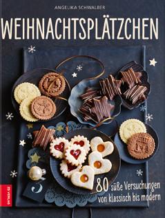 Backbuch von Angelika Schwalber: Weihnachtsplätzchen