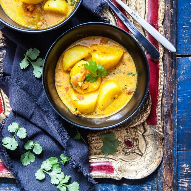 Rezept von Anjum Anand: Südindisches Kartoffelcurry