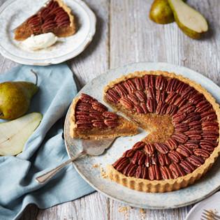 Rezept von Kate Doran: Birnen-Pekannuss-Tarte