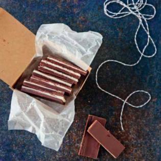 Rezept von Ivy Manning: Geschichtete Minzschokolade