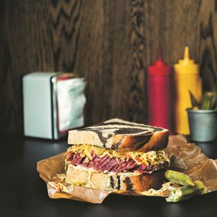 Rezept von Jonas Cramby: Reuben Sandwich – Variation Montreal