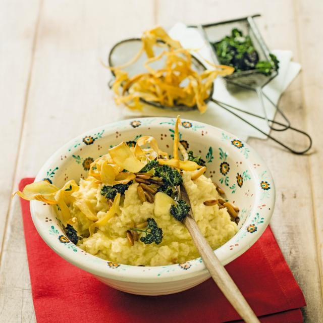 Rezept aus Die neue Alpenküche: Pastinakenpüree