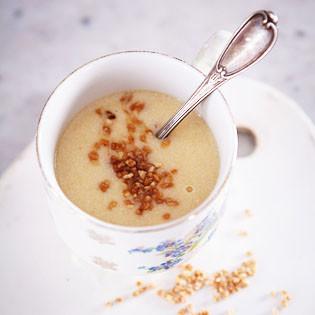 Rezept von Margarita Carrillo Arronte: Fruchtige Milch-Atole
