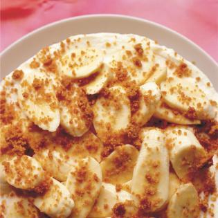 Rezept von Nigel Slater: Bananen-Käsekuchen