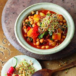 Rezept von Susanna Bingemer & Hans Gerlach: Kartoffelcurry mit Kichererbsen