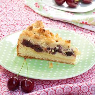 Rezept von Annik Wecker: Kirschstreuselkuchen