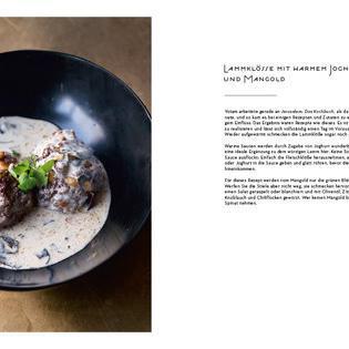 Rezept aus NOPI: Lammklöße mit Joghurt & Mangold