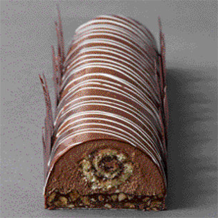 Rezept von Mélanie Dupuis & Anne Cazor: Schokoladen-Biskuitrolle
