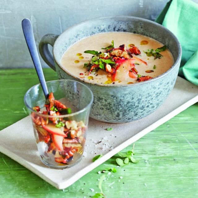 Rezept von Martina Kittler: Maronensuppe mit Äpfeln & Majoran