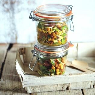 Rezept von Julie Montagu: Salat aus gerösteten Kichererbsen