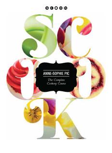 Kochbuch von Anne-Sophie Pic: Scook