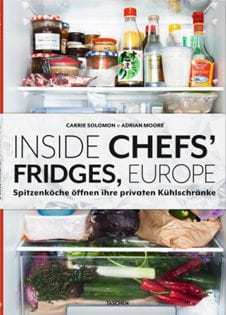 Kochbuch von Carrie Solomon & Adrian Moore: Inside Chefs' Fridges, Europe