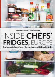 Kochbuch von Carrie Solomon & Adrian Moore: Inside Chefs' Fridges, Europe