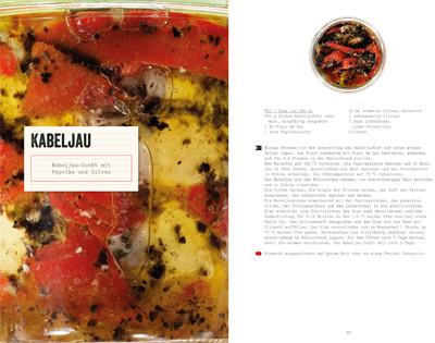 Rezept von Henrik Andersson: Kabeljau-Confit mit Paprika und Oliven