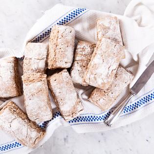 Rezept von Karoline Jönsson: Frühstücksbrötchen frisch vom Blech