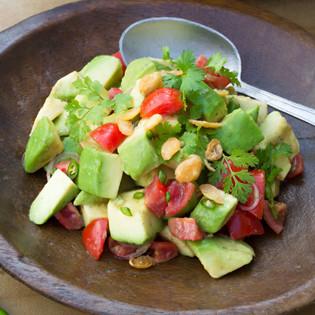 Rezept von Heike & Stefan Leistner: Avocadosalat aus Myanmar
