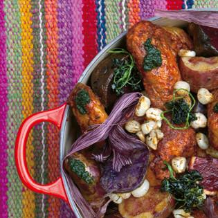 Rezept von Virgilio Martinez & Luciana Bianchi: Chicken and Potato Pachamanca