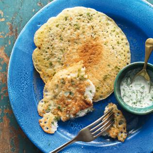 Rezept von Madhur Jaffrey: Reismehl-Pfannkuchen