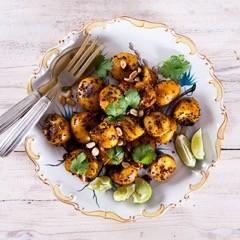 Rezept von Anjali Pathak: Rauchig-würzige Kartoffeln