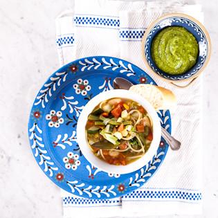 Rezept von Belinda Williams: Soupe au pistou