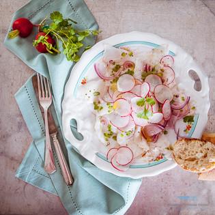 Rezept von Thomasina Miers: Seebarsch-Ceviche
