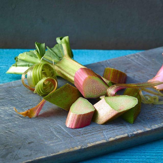 Rezept von Bernd Siefert: Rhabarber-Erdbeer-Spicy-Crumble