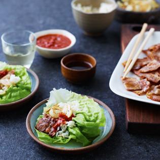 Rezept von Jordan Bourke & Rejina Pyo: Gegrillter Schweinebauch