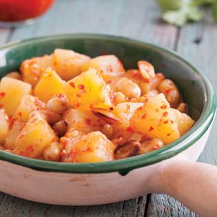 Rezept von Karen Solomon: Scharfes Ananas-Erdnuss-Pickle